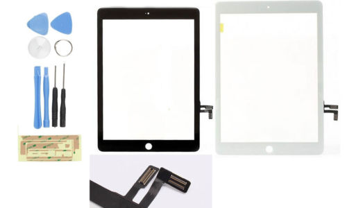 OEM High quality Touch Screen Glass Digitizer Repair For iPad 5 Air 5th + Tool