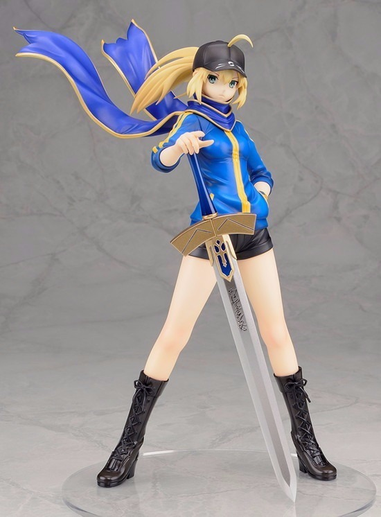 Anime Fate Zero Figure 23CM Fate Stay Night Saber Baseball jackets Action Figure Sexy Girl Figure Toy ALTER Saber Lily 1pc Toys new hot 25cm fate zero fate stay night kimono saber action figure toys collection christmas gift with box