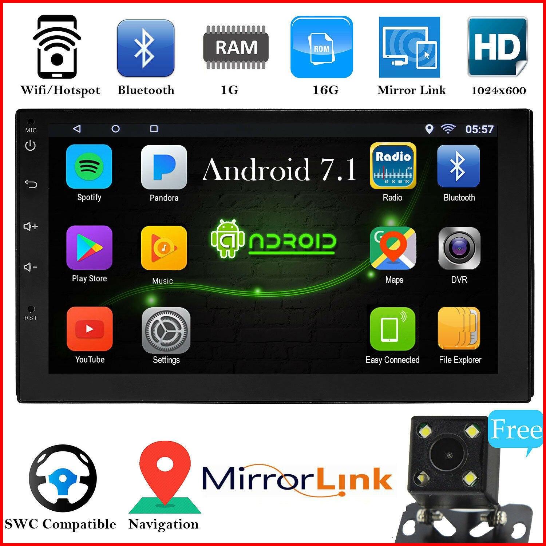 2 Din Android autoradio multimédia lecteur vidéo universel auto stéréo GPS carte pour Volkswagen Nissan Hyundai Kia toyota CR-V