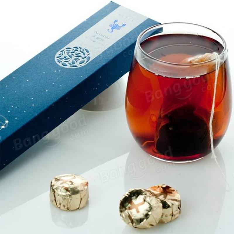 12 Constellations Flavors Yunnan Puer Tea Mini Tuo Ripe Raw Pu Rr Tea The Puerh Tea Food ...