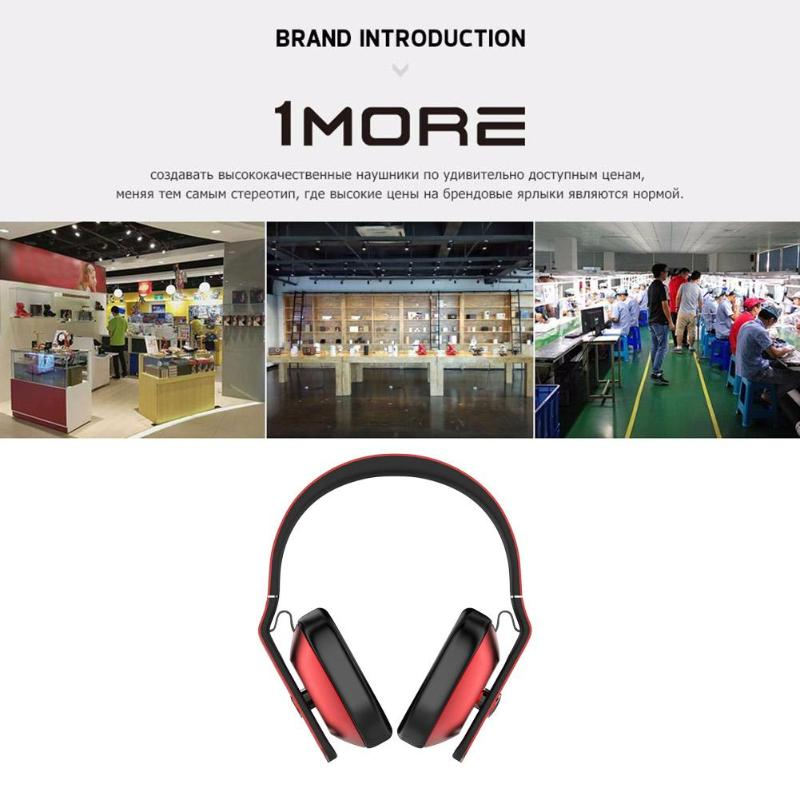 Image 5 - Xiaomiyoupin 1MORE 104dB 32Ohm Headset Casque 3.5mm Wired Earphone Music Earbuds for Apple Android Music Headphones-in Headphone/Headset from Consumer Electronics