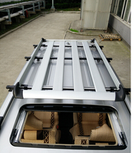 4PC High quality! 160CM  Aluminium Roof Rail Rack Luggage Cage Basket Cargo Carrier Box For Car
