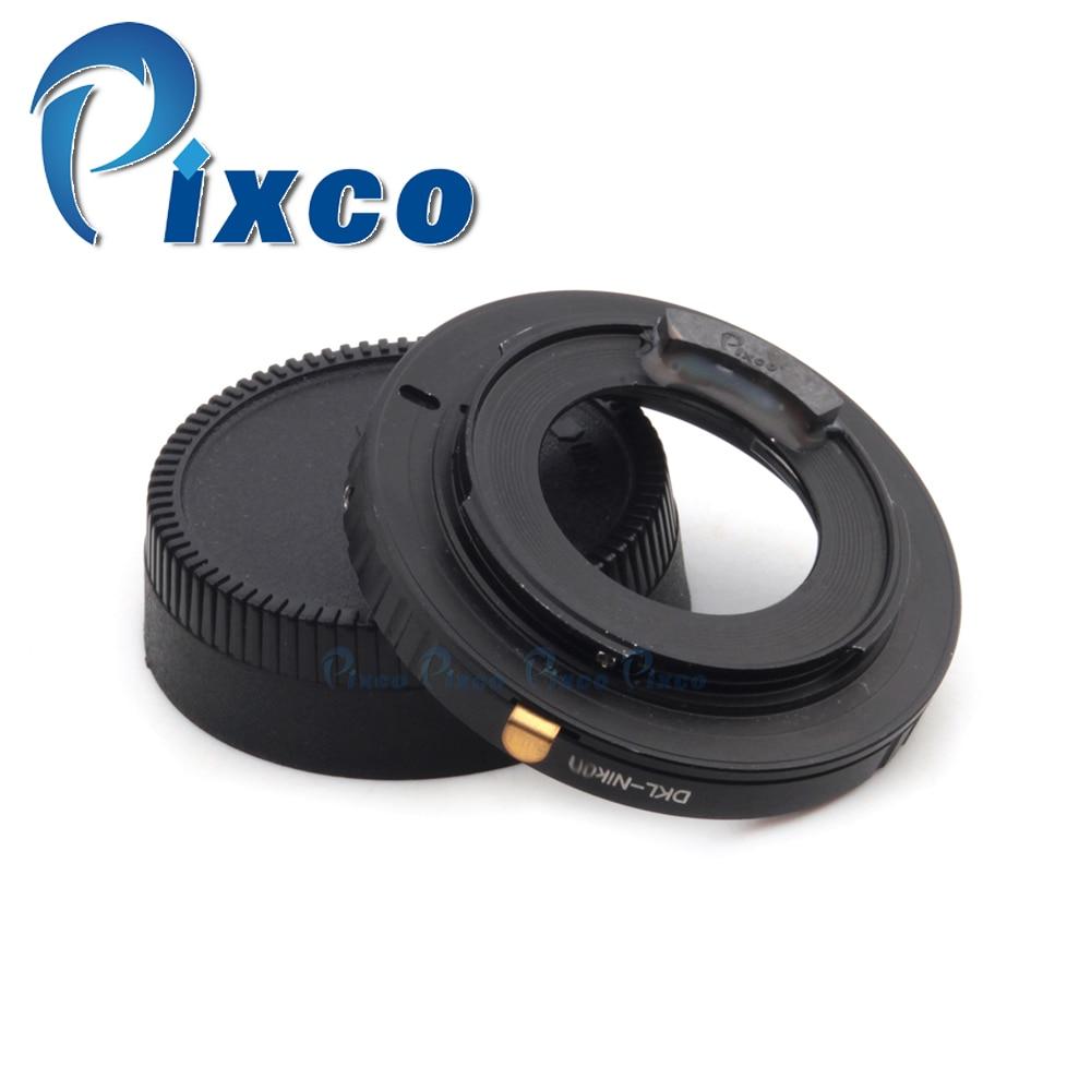 ФОТО AF Confirm Lens Adapter Suit For Voigtlander Retina DKL Lens to Nikon Camera D7100 D5200 D600 D3200 D800/D800E D4