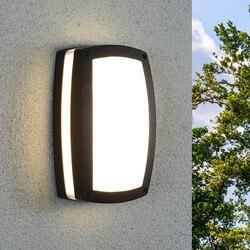Thrisdar 24 Вт наружный водонепроницаемый светодиодный фонарик креативный наружный настенный светильник для проходной балконной стены