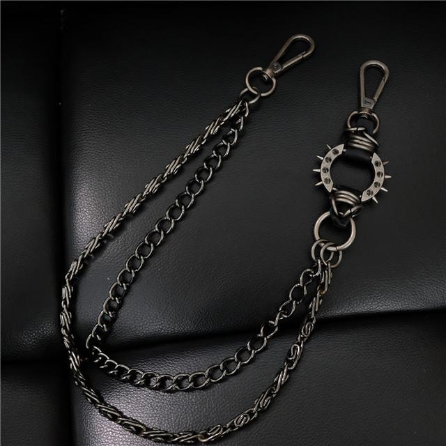 Gothic rock keychain