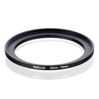 Elevação original (reino unido) 62mm-72mm 62-72mm 62 a 72 step up anel filtro adaptador preto