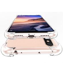 Case for Redmi note 5 6 Pro Case redmi note 4 4x Transparent Silicon Case for Xiaomi 8 8se 8lite Redmi 6A 4X 4 5 plus 5a case цена и фото