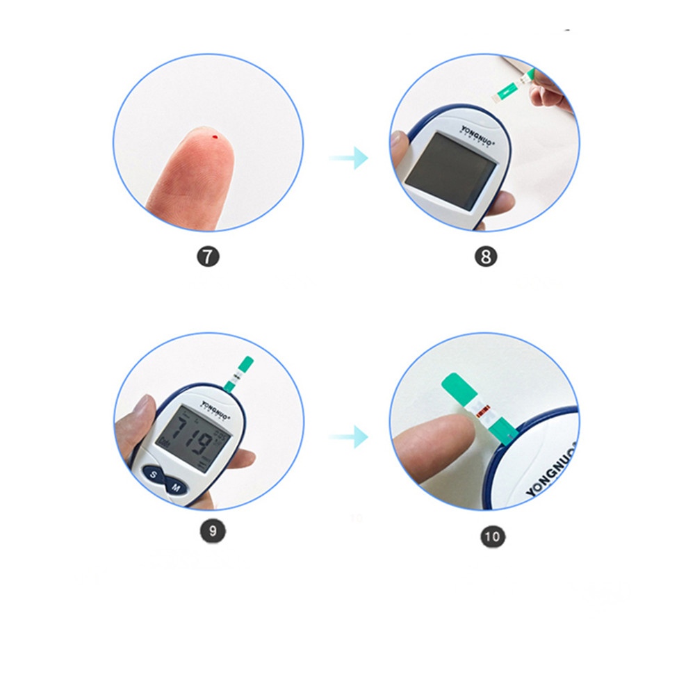 How to use the glucose meter