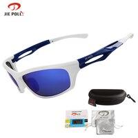 Jiepolly Professional Polarized Cycling Sunglasses Fishing Ski Glasses Sports Bicycle Sunglasses Eyewear Driving Glasses Alduts