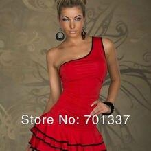 2 цвета сексуальное женское белье мини-платье для вечеринок Одежда танцевальное платье для вечеринки вечернее платье M094