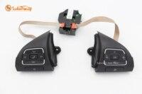 Многофункциональная пара кнопок управления на руль для Golf J etta MK6 EOS Tiguan Touran 5C0959537A 5C0959538B