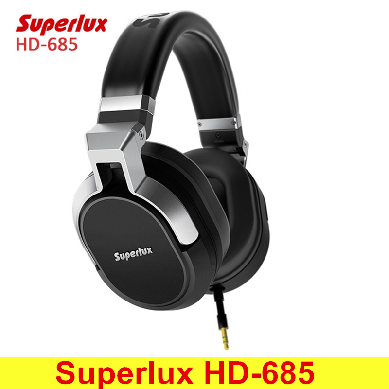 Original Superlux HD-685 Rich Bass Music Wired Stereo Headphones with Microphone Remote Control Support Hands-free Calls интерком система superlux hmd 660x