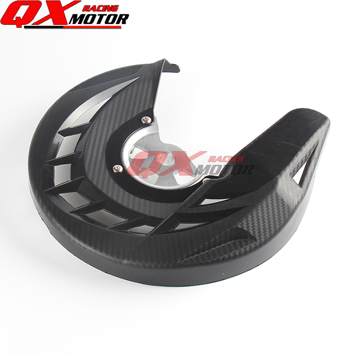 Front Brake Disc Rotor Guard Cover Protector Protection For Kawasaki KLX 250 KLX250 Motocross Motorcycle 2008-2016 free shipping  free shipping dirt motorcycle front disc brake rotor for kawasaki kl250 super sherpa 1997 2007