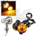 2 colors available motorcycle turn signal light motorbike indicator amber moto blinker yellow lighting lamp motocross flasher