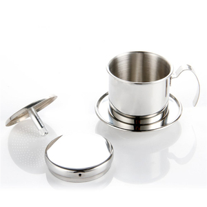 Image 3 - Фильтр для кофе ROKENE, из нержавеющей стали, вьетнамский набор фильтров для кофе, лучшая капельница для дома/кухни/офиса/улицы