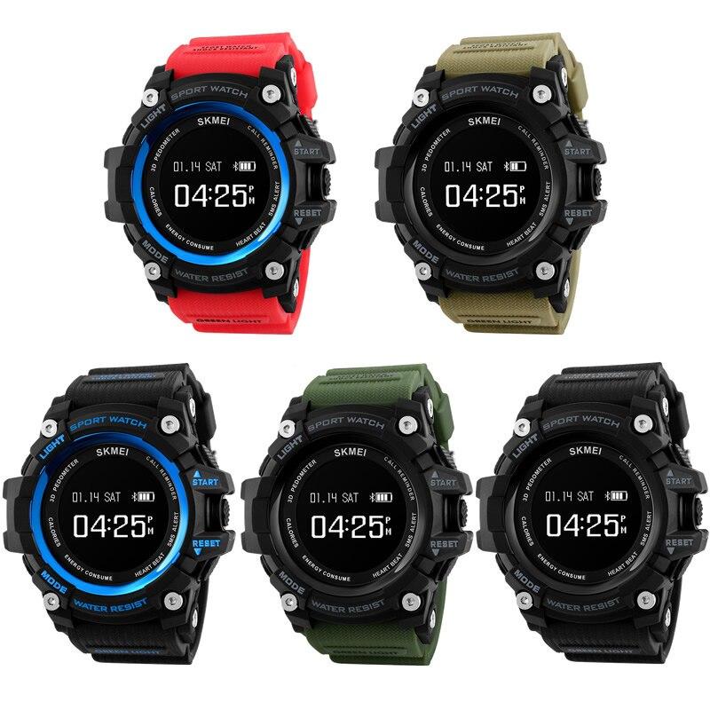 Черный Мода Умные мужчины наручные часы 3D шагомер энергии conusum sms-оповещение сердечного ритма Мониторы интеллектуальные часы Силиконовые ч...
