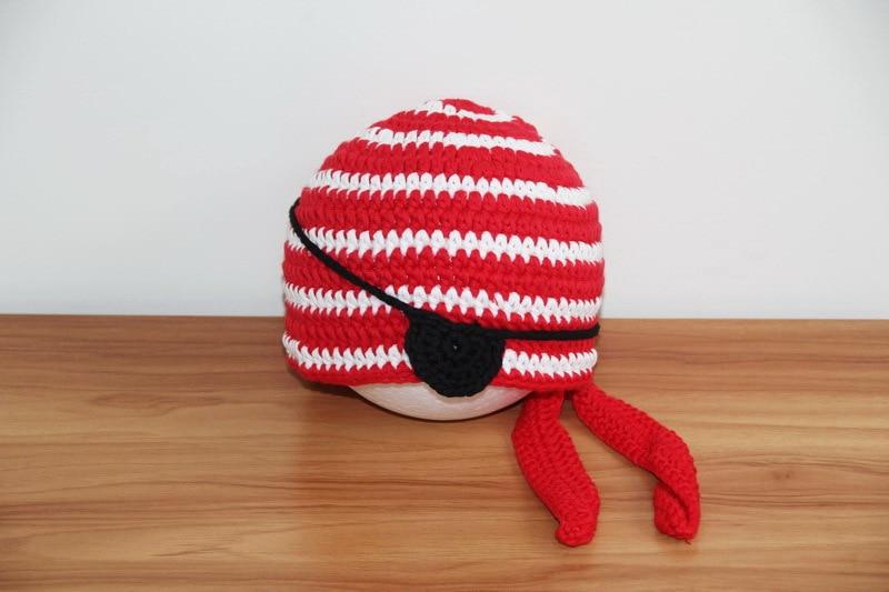 5543a3240990f Crochet Pirate Hat, Bandana Beanie, Nautical Beanie, Toddler Pirate Beanie,  Baby Striped Hat, Crochet Baby Hat,Toddler Boys Hat-in Hats & Caps from  Mother ...
