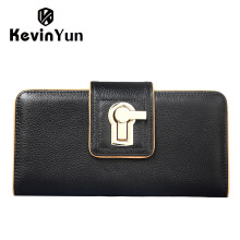 KEVIN YUN Fashion women wallets long hasp purse female clutch wallet multi credit card holder with phone holder pocket