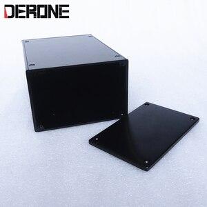 Image 5 - Caja para amplificador chasis para preamplificador aislado, 140x90x209mm, carcasa de aluminio, 1409P