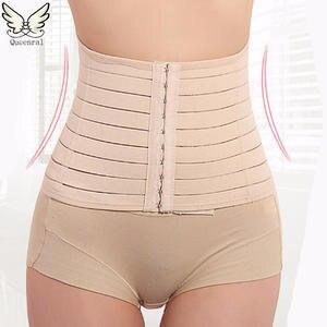 a8ce971bb37 Queenral waist trainer Corset women Slimming Belt shapewear