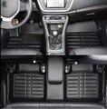 Hohe qualität! kundenspezifische sonder auto fußmatten für Jaguar XF 2015 2009 langlebig wasserdicht teppiche für XF 2013  Freies verschiffen Fußmatten    -
