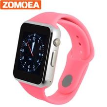 Дешевые Best наручные часы Спорт Шагомер с SIM Камера детские часы Bluetooth SmartWatch для Android Xiaomi huami Корея смартфон