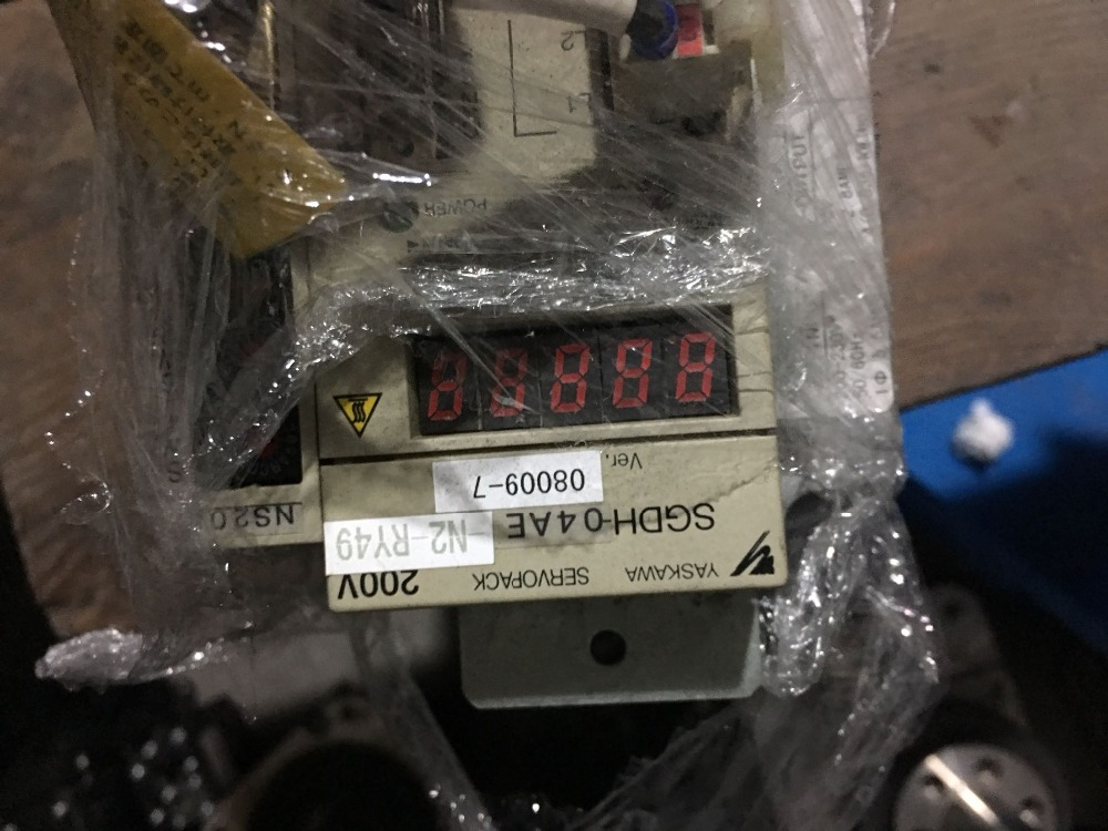 Servo drive  SGDH-04AE-N2-RY49     ,    Used one ,90% appearance new , 3 months warranty , fastly shipping Servo drive  SGDH-04AE-N2-RY49     ,    Used one ,90% appearance new , 3 months warranty , fastly shipping