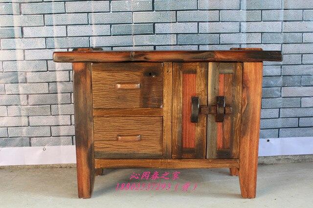 qinyuanchun old ship bois massif meubles garde manger armoires de chevet armoire navire meuble d