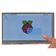 Discount! Free Shipping 7 Inch HDMI TFT Capacitive Touch Screen For Raspberry Pi 2 / Model B / B+ / B (1024 x 600)/ raspberry pi 3