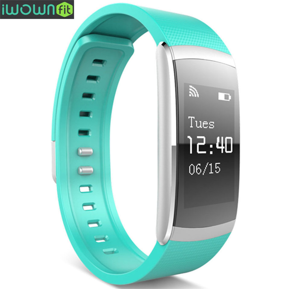 iWOWN Original Smart Bracelet i6 PRO Heart Rate Monitor Wristband Fitness Tracker Band Watch For Android