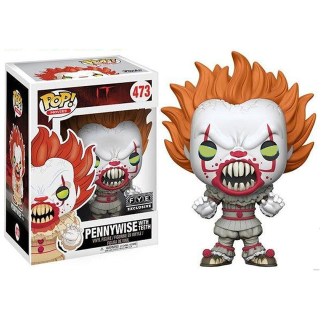 Funko pop IT- Pennywise &amp CHUCKY  Action Figure Anime Model Pvc Collection Toys For birthday Gifts 2