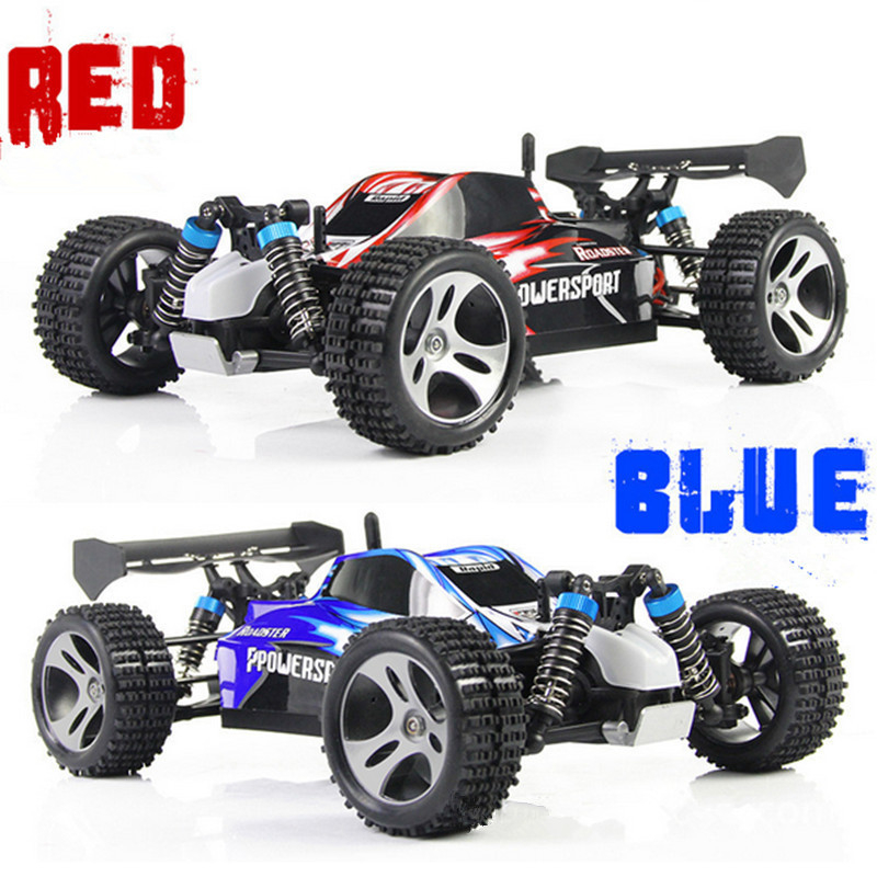 A959 RC Car 2.4G 1:18 Scale Off-Road Vehicle Buggy High Speed Racing Car Remote Control Truck Four-wheel Climber SUV Toy Cars remote control 1 32 detachable rc trailer truck toy with light and sounds car