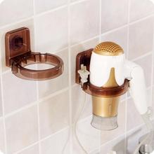 Strong Suction Cup Hair Dryer Rack Bathroom Multi-purpose Dryer Shelf Wall Hairdryer Holder