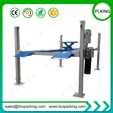 Commercial Grade 4 Post Hobbyist Car Parking Lifts With CE