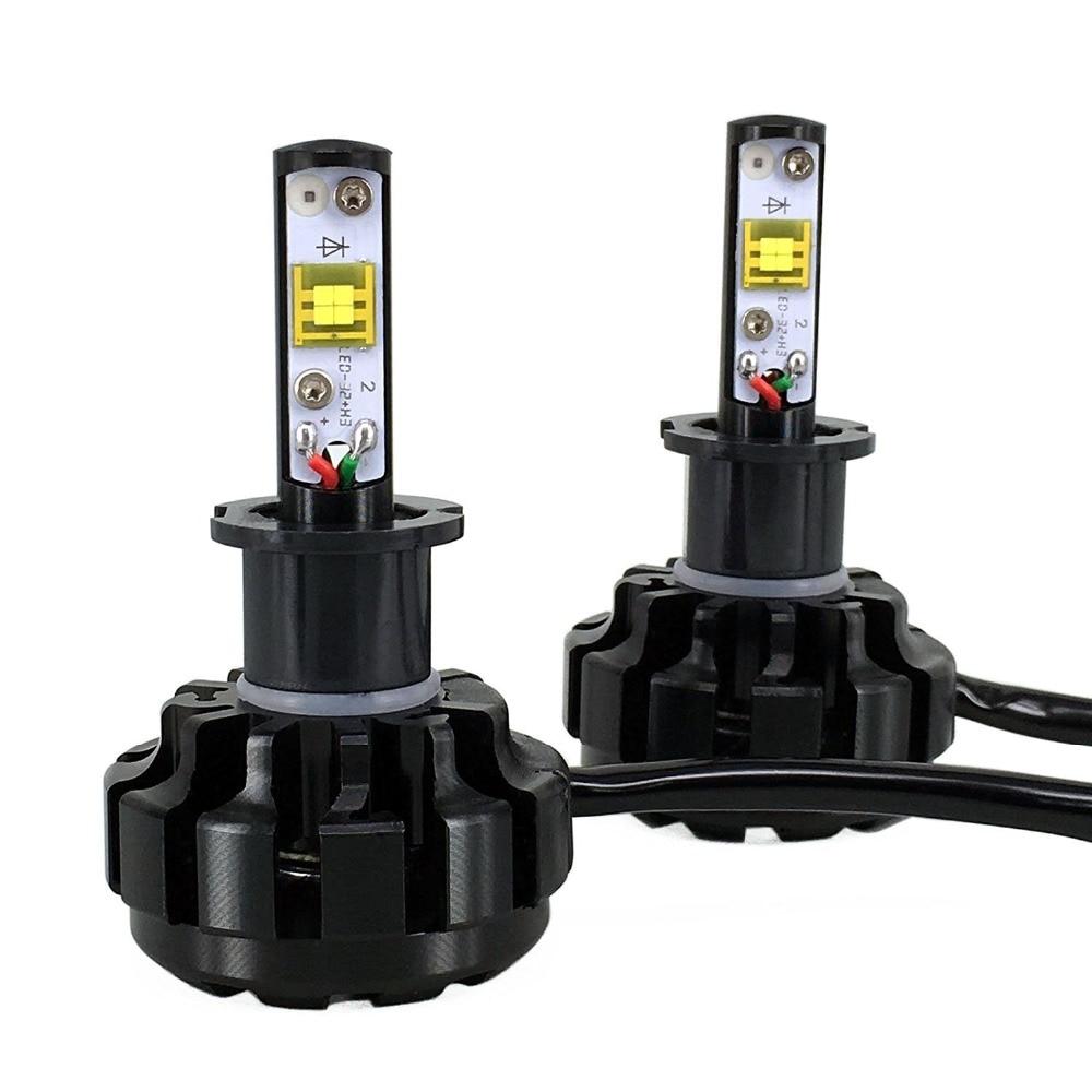 8 48v 8000lm turbo led 40w car v18 led headlight lamp conversion kit super bright auto led bulbs. Black Bedroom Furniture Sets. Home Design Ideas