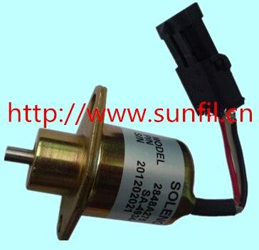 High quality Fuel Shutdown Solenoid Valve SA-4934-12,2848A279,2848A275,2848A271,12V,5pcs/lot