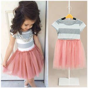 dbaa81e2c53c pudcoco Baby Girl Princess Lace Kids Toddler Tutu Dress