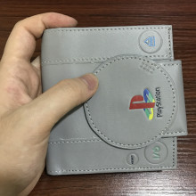 FVIP Playstation Wallet Game Playstation Control Shape Coin Purse With Card Holder For Young