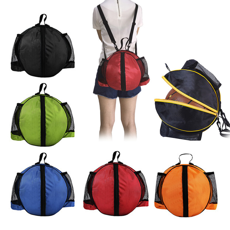 Outdoor Sport Shoulder Soccer Ball Bags Kids Football Volleyball ...