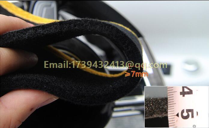 Dashmats araba-styling aksesuarları Toyota Corolla Axio Altis için - Araç Içi Aksesuarları - Fotoğraf 3