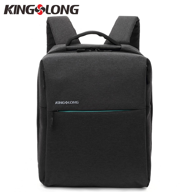 цены KINGSLONG Men 14 Inch Laptop Business Backpack Large Capacity Urban Shoulder Bag Rucksack Daypack School Duffel Bag KLB1310850-6