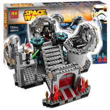 Bela Star Wars Death Star Final Duel Building Block Set Luke Skywalker Darth Vader Minifigures Kids Toy legoe 75093 Compatible