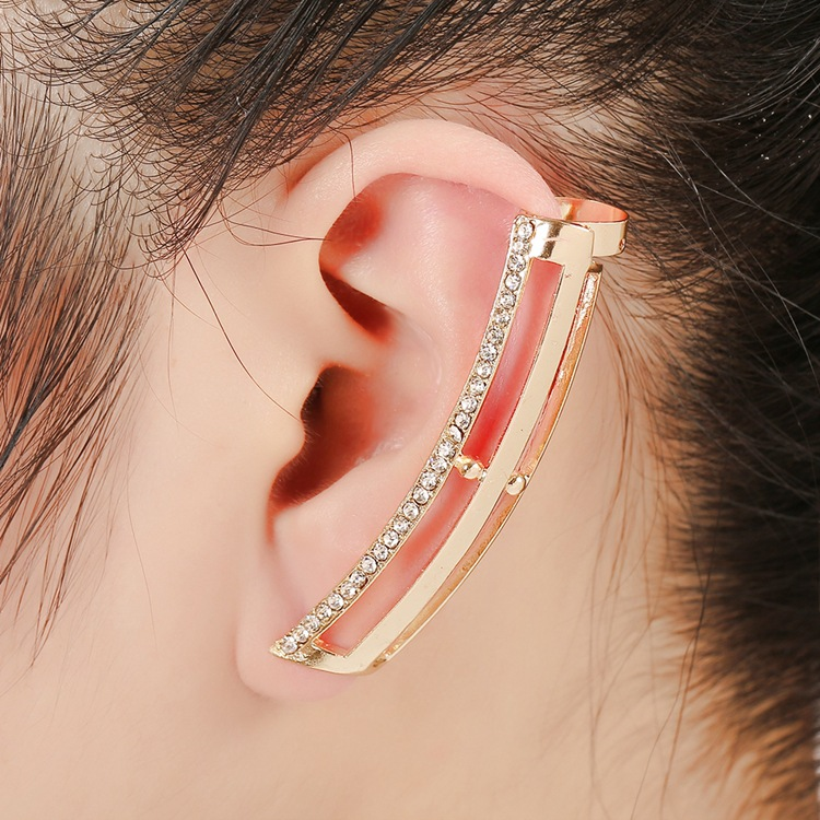 WLP 1PC hot Exaggeration earrings punk cuff Earrings American punk ...