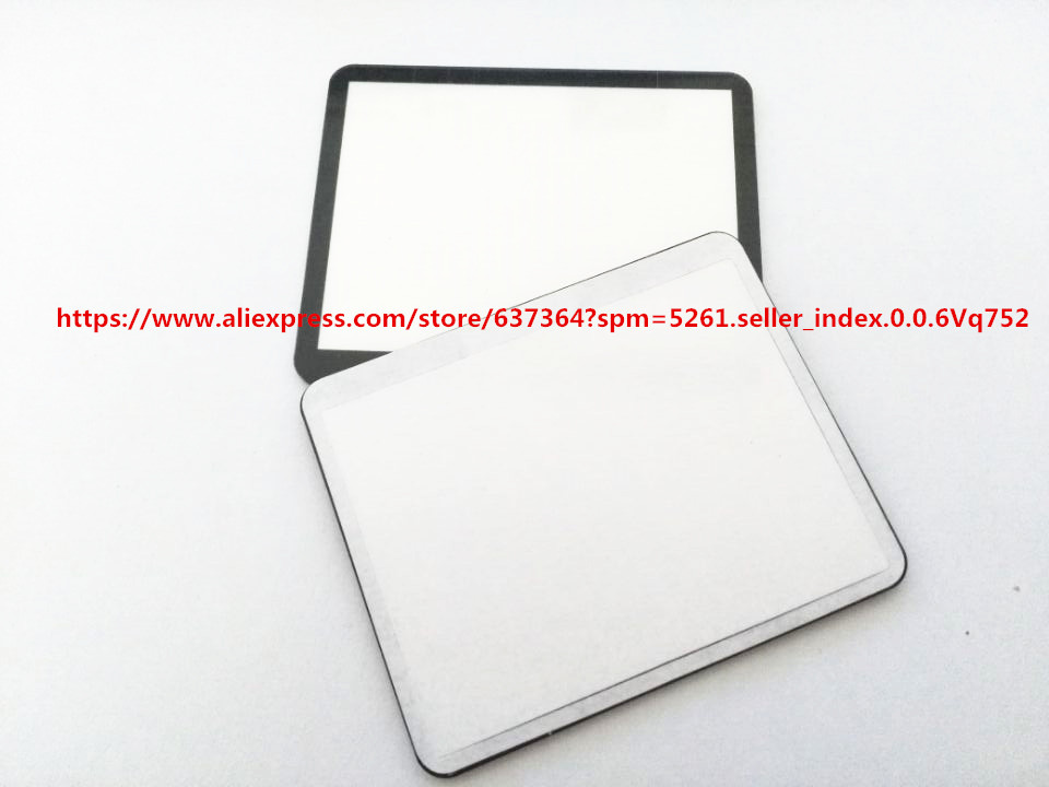 New LCD Screen Window Display (Acrylic) Outer Glass For CANON For EOS 5DII 5D Mark II / 5D2 Camera Screen Protector + Tape