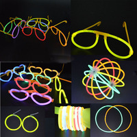 LUMINOUS GLOW STICKS EYE GLASSES EARRINGS NECKLACE WRISTBAND HEADBAND PARTY Wedding Decoration Christmas Halloween navidad