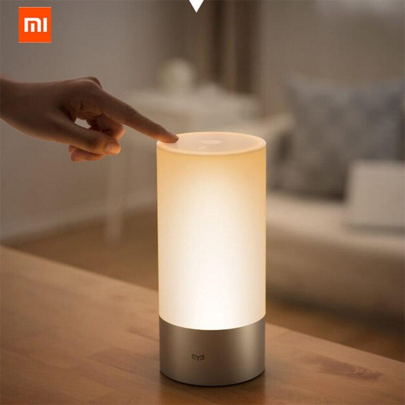 Xiao mi Цзя Yeelight умная лампа пульт помещении кровать ночники 16 mi llion RGB огни Touch Управление Bluetooth для mi приложение Home
