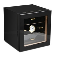 Cigar Humidor High Glossy Piano Finish Luxury cigar cabinets humidors Humidifier for cigar box Small humidor humidifier Best