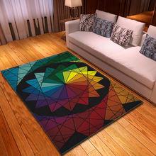 3d стерео серии напечатанные ковры для гостиной спальни коврики