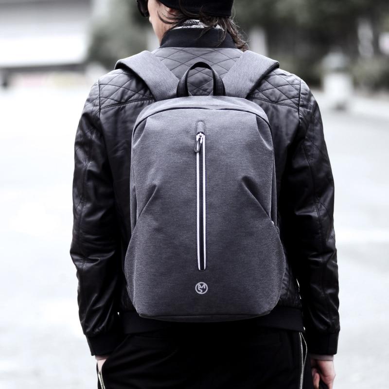 Water Resistant College School Computer Bag USB Charging Men Backpacks for Teenage Boys Schoolbag Travel Backpack