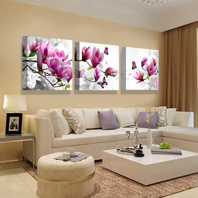 Size Size 1 Inch Cuadros Fashion 5 Pcs Canvas Art Abstract Painting Color Cloud Wall Decor Pictures No Framed Tableau Peinture Sur Toile Posters Home Artwork